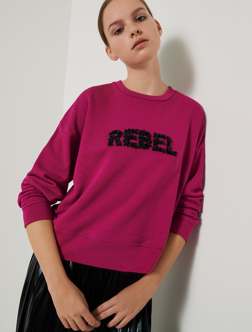 Embroidered sweatshirt Marella