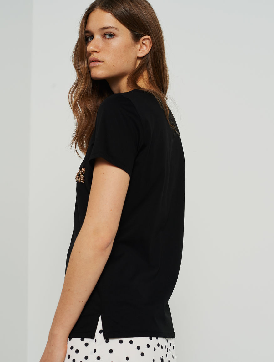 Embroidered T-shirt Marella