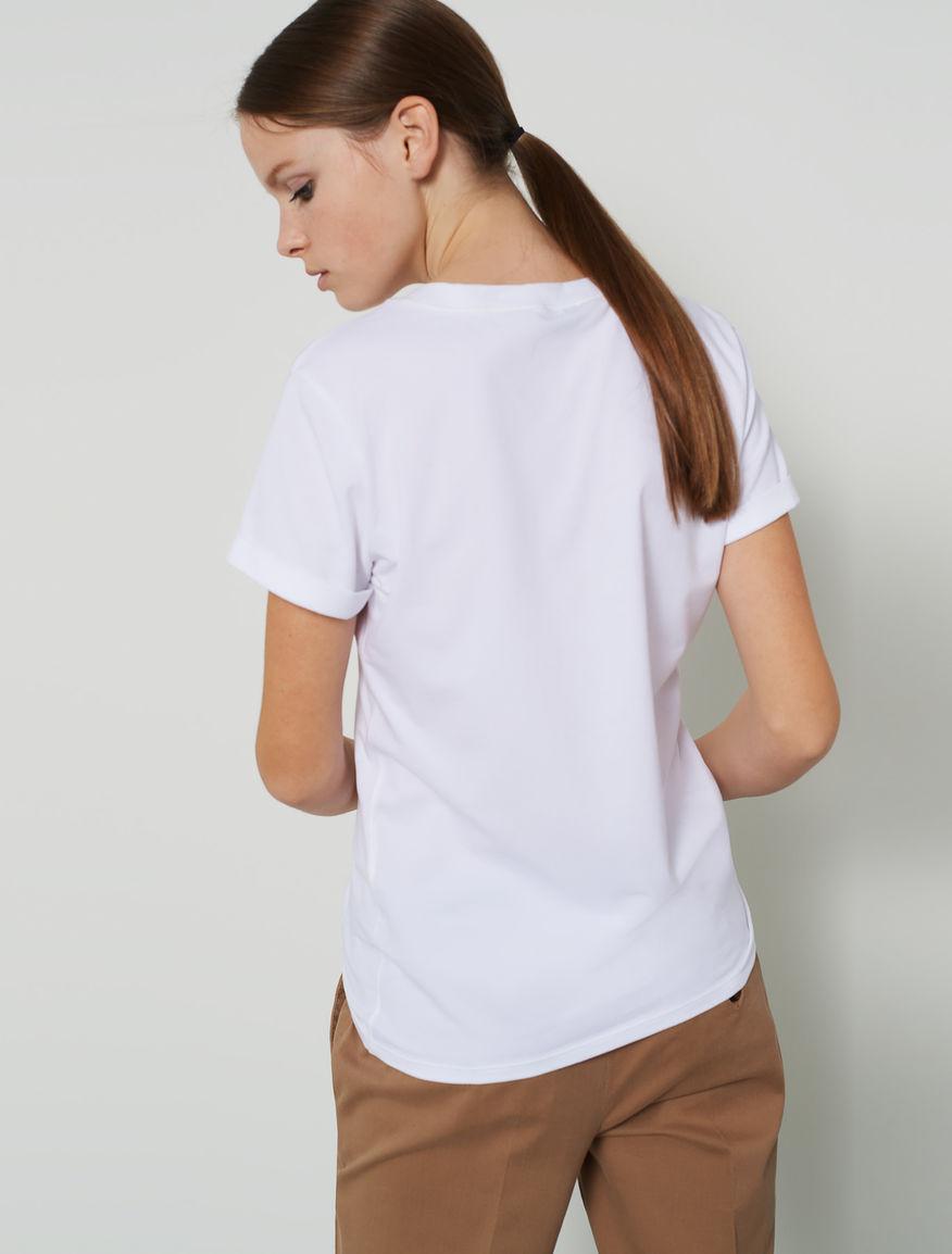 Patterned T-shirt. Marella