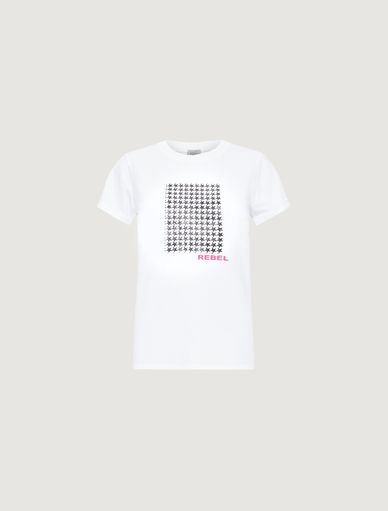 Patterned T-shirt. Marella