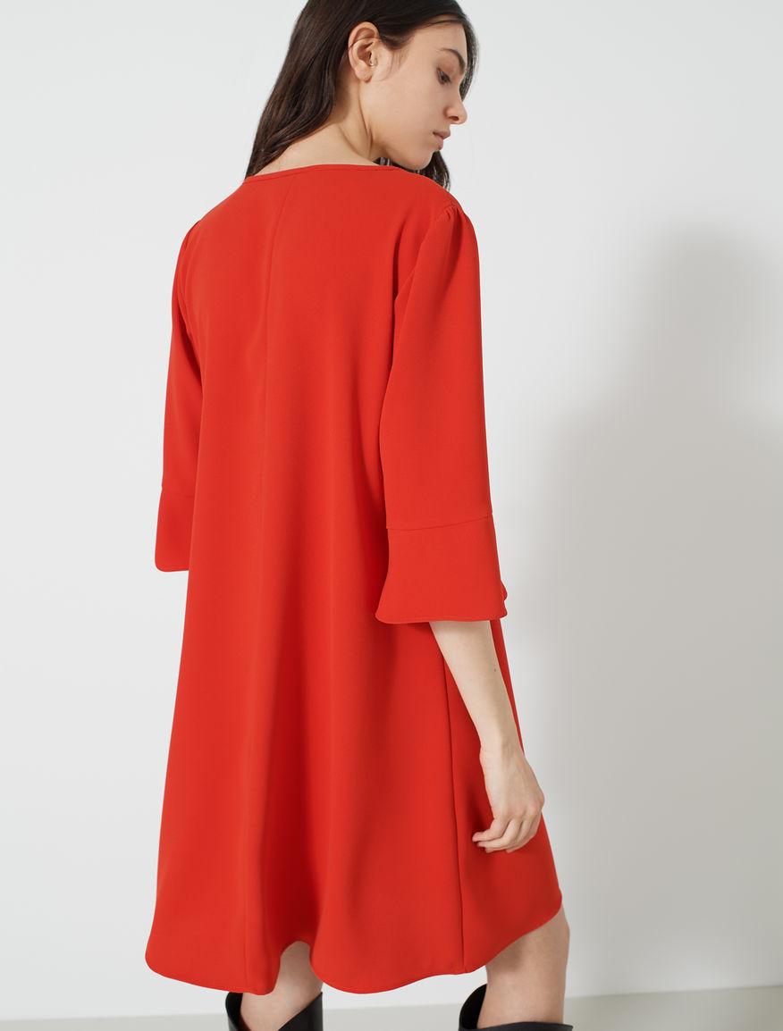 Vestido de crepé Marella