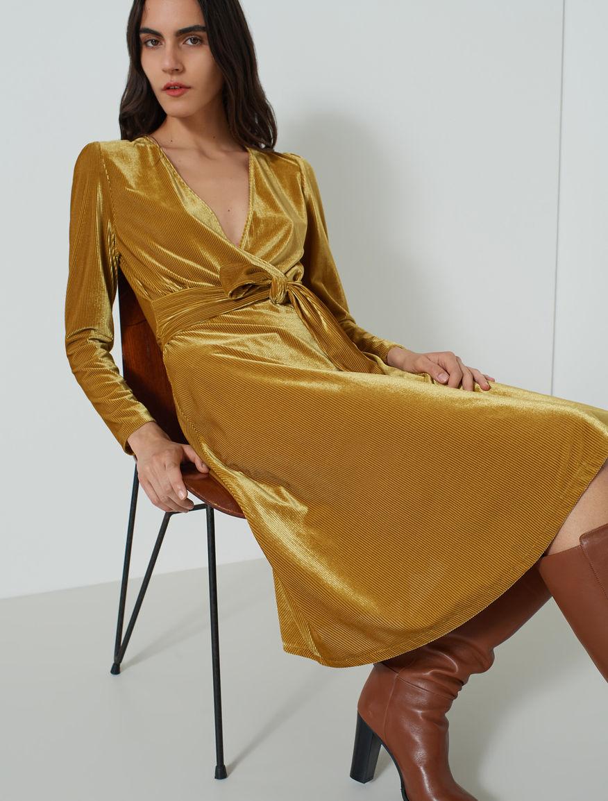 Velvet dress Marella