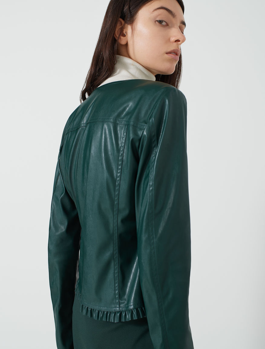 Jacket with ruffles Marella