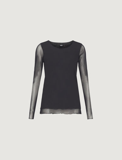 T-shirt in tulle Marella
