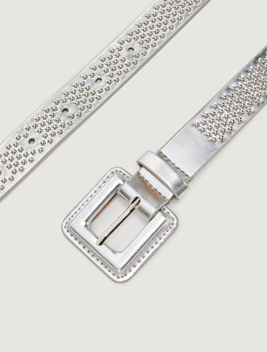 Cinturón con tachuelas Marella
