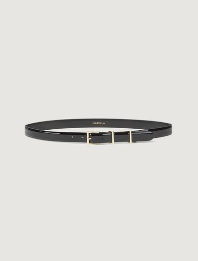 Patent leather belt Marella