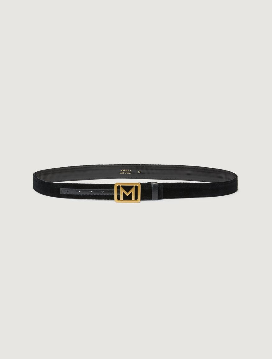 Velvet belt Marella