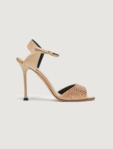 Rhinestone sandals Marella