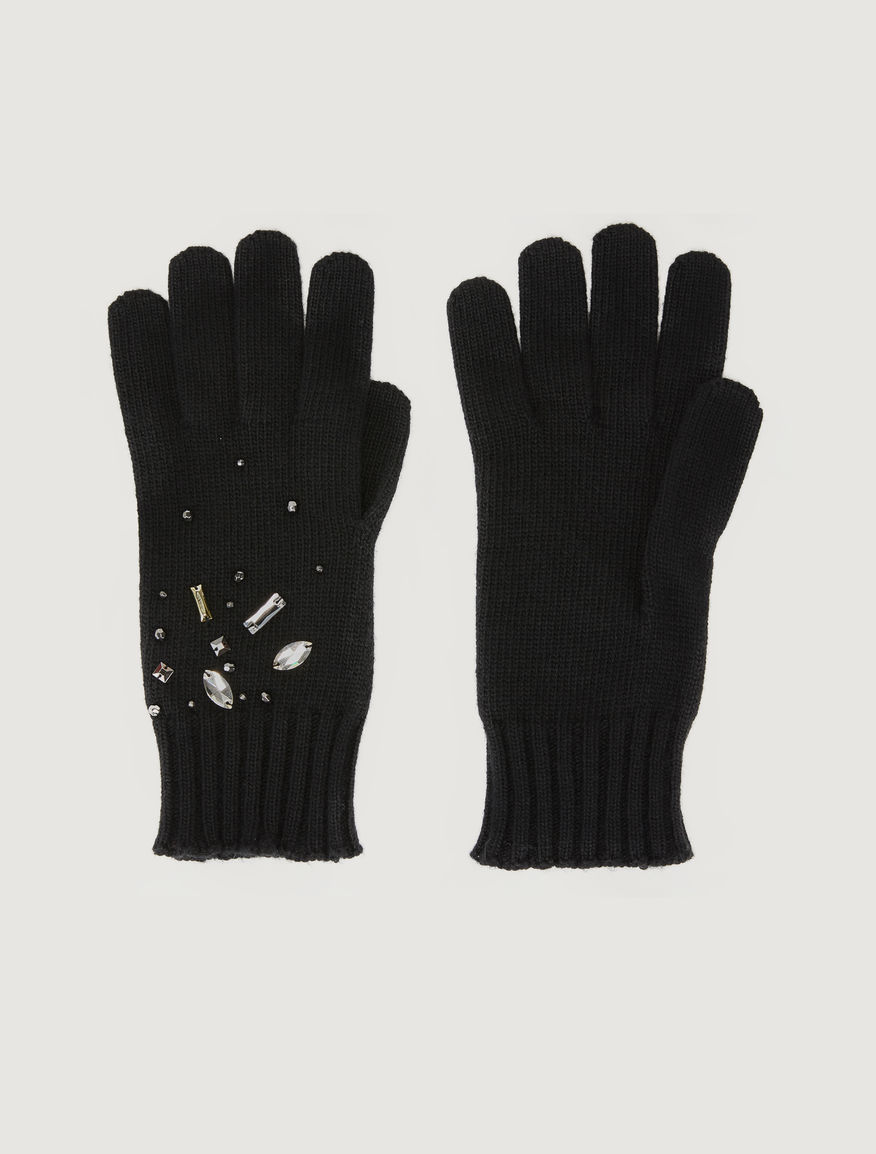 Embroidered gloves Marella