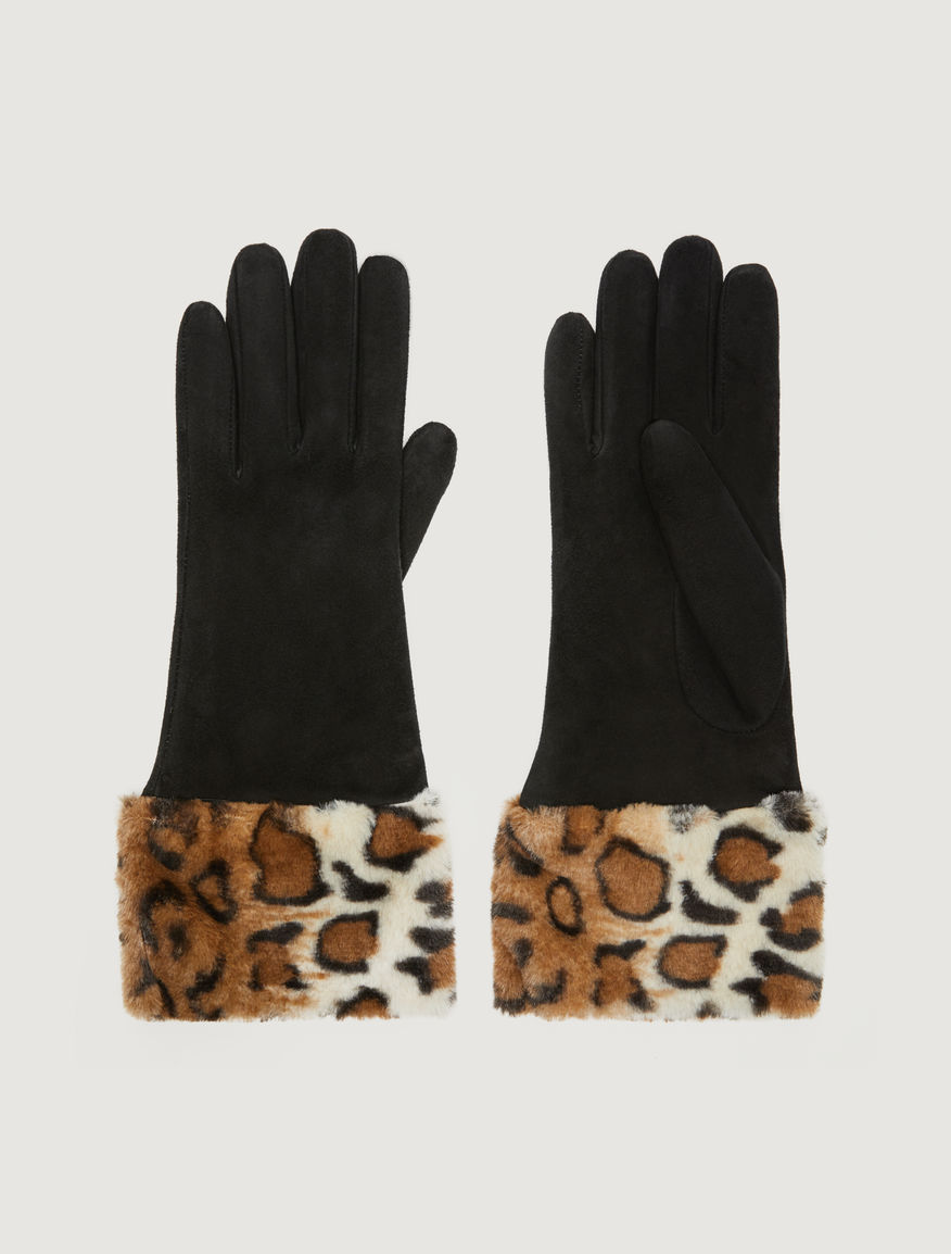 Animal print gloves Marella
