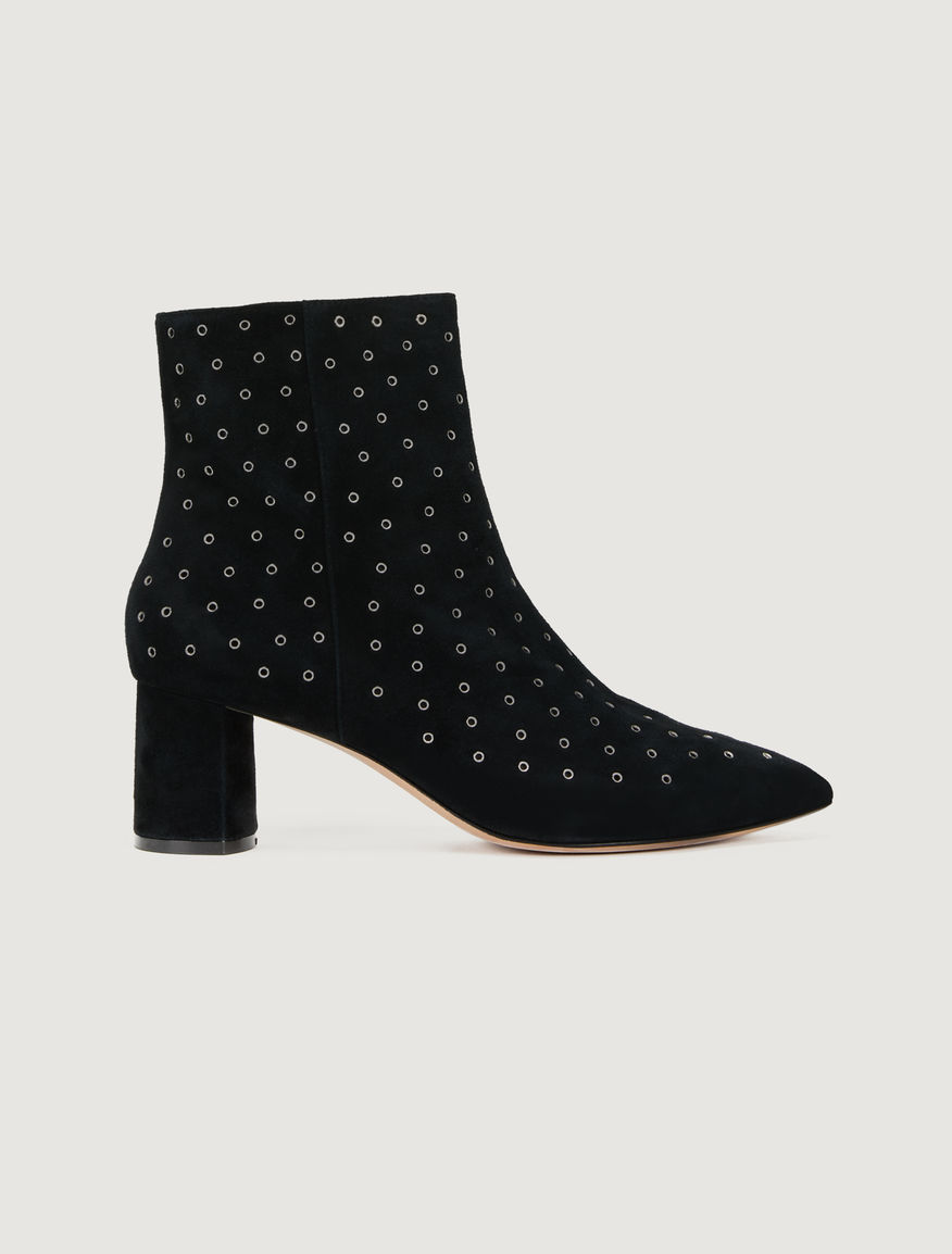 Suede ankle boots Marella