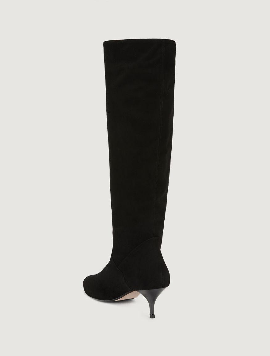 Suede boots Marella