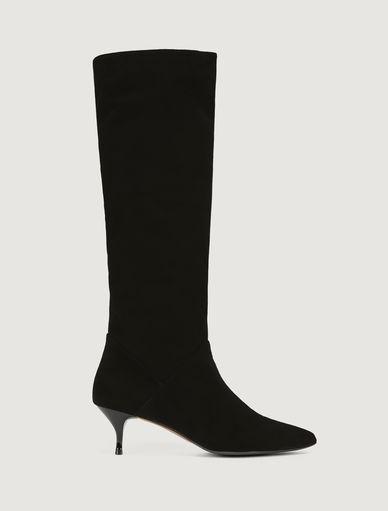 Stivali in suede Marella