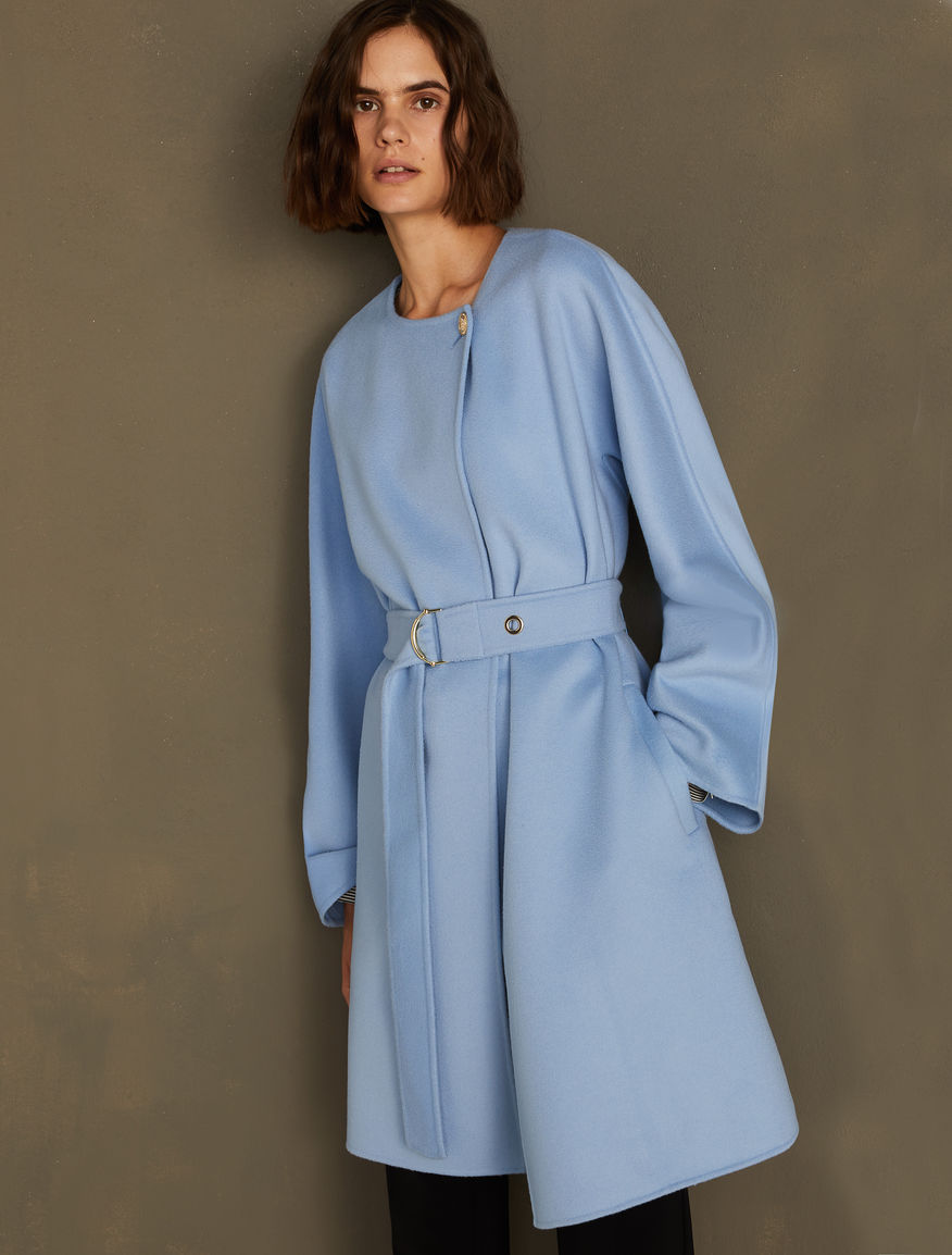 Coat with belt Marella