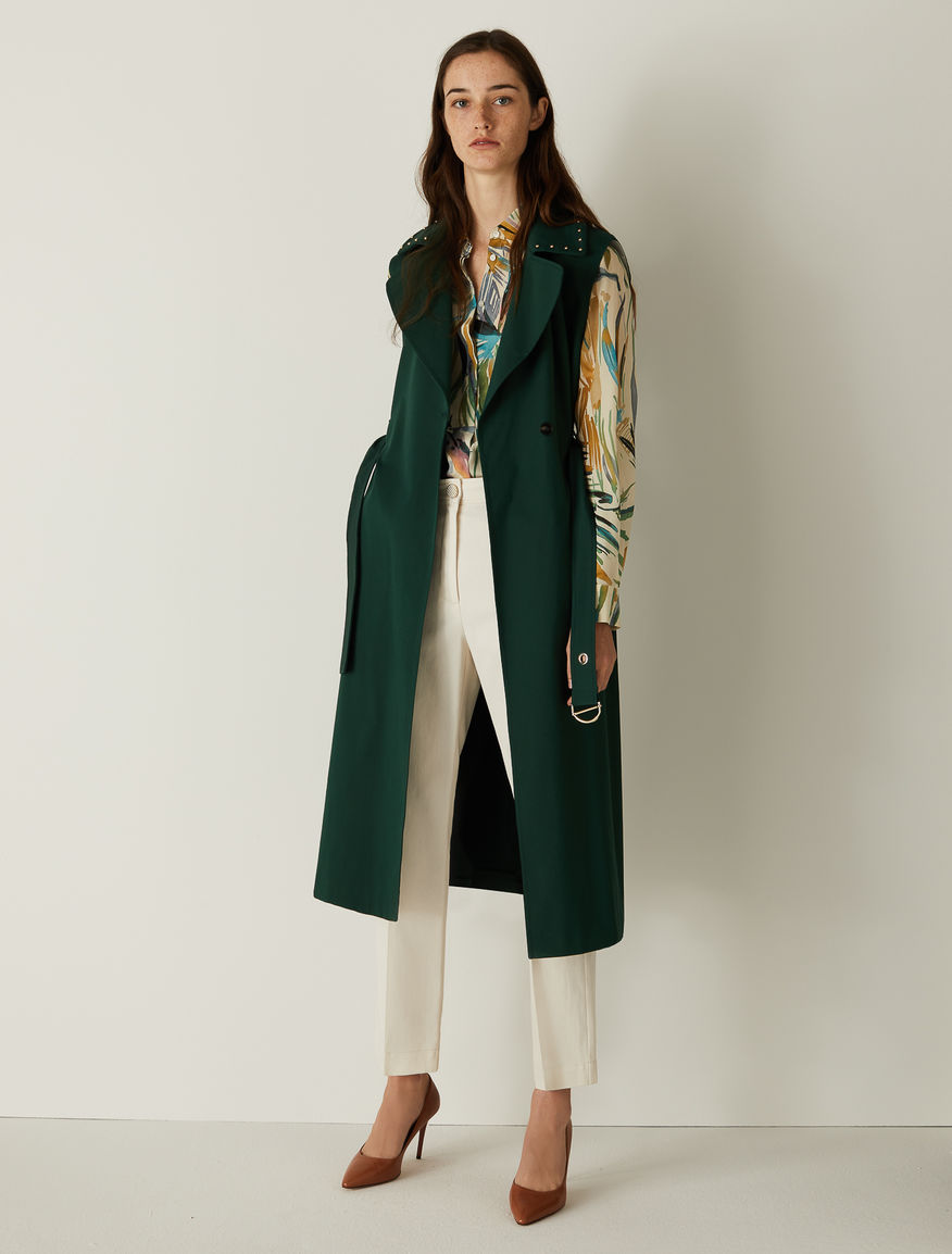 Studded trench  Marella