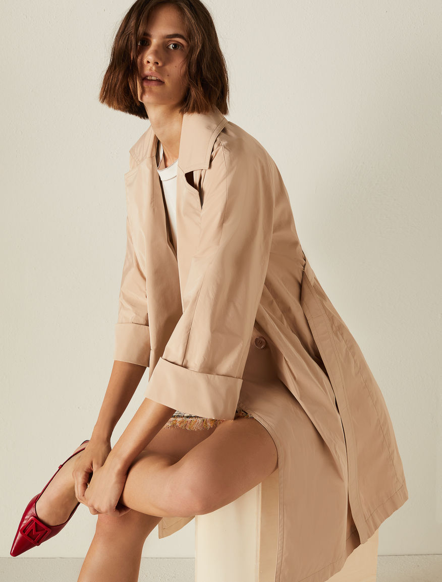 Taffeta trench coat Marella