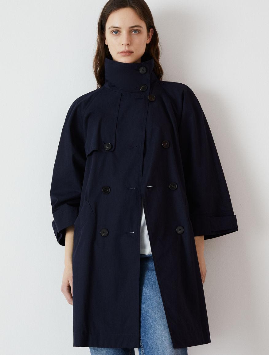 Satin trench coat Marella