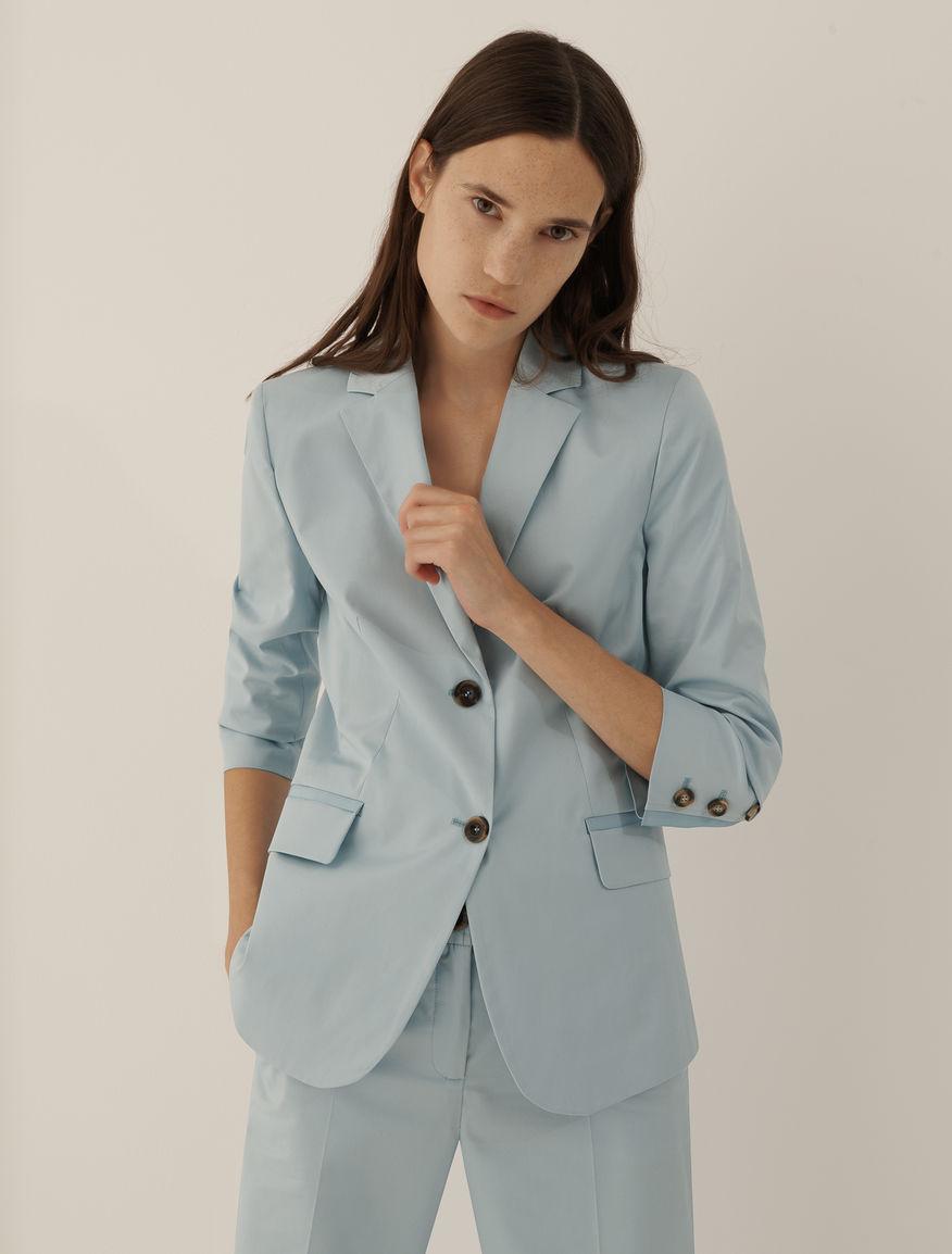 Cotton blazer Marella