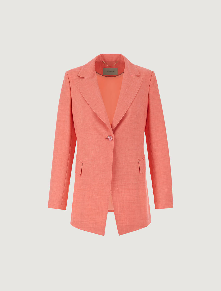 Canvas blazer Marella