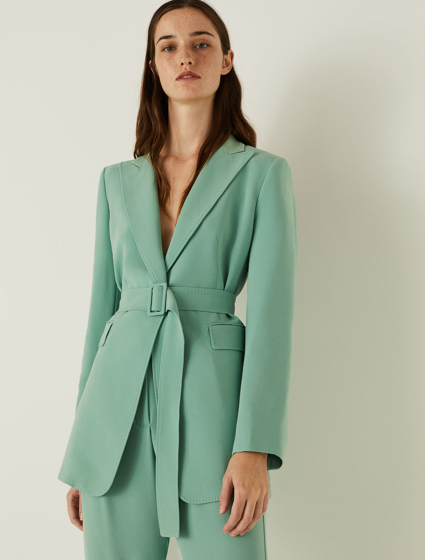 Belted blazer Marella