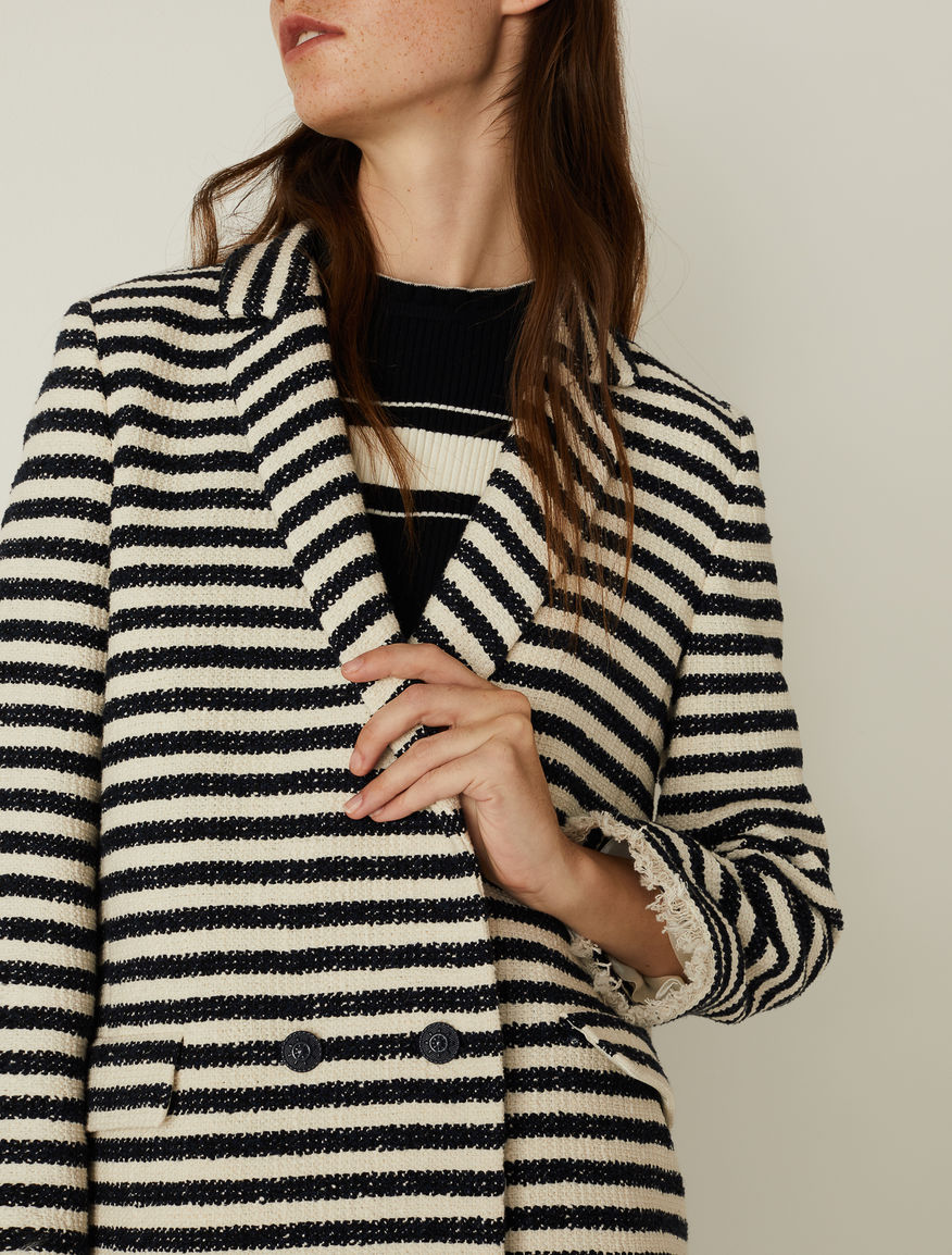 Striped blazer Marella