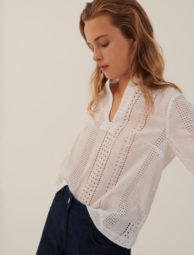 St. Gallen embroidery blouse Marella