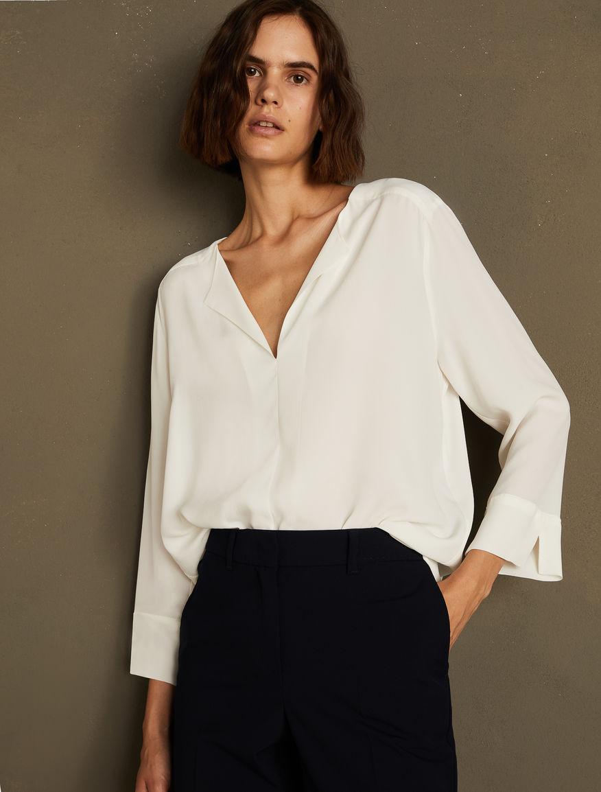 Blusa de crepé Marella
