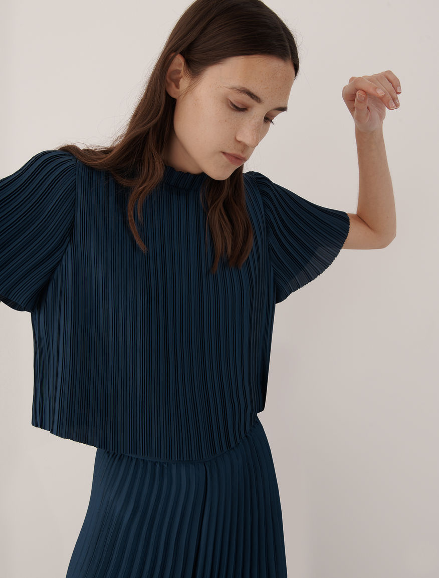 Pleated blouse Marella
