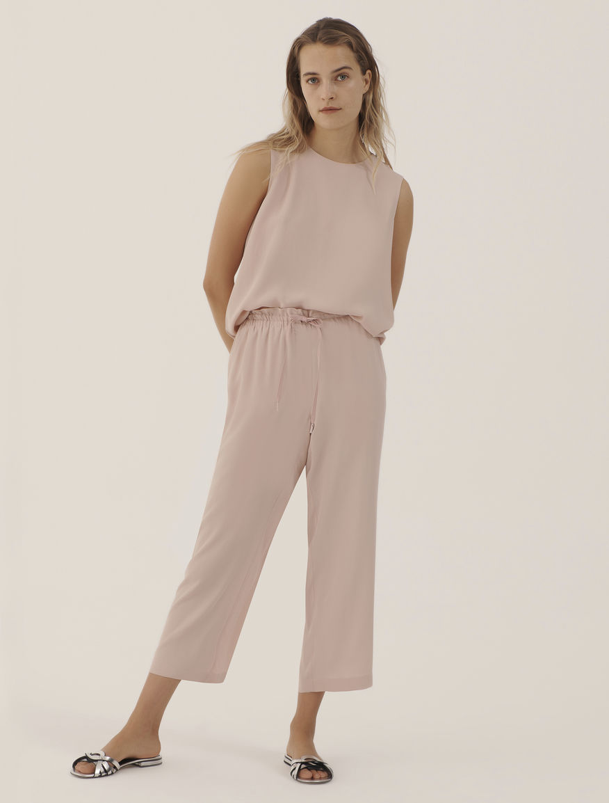 Drawstring trousers MONOCHROME Marella