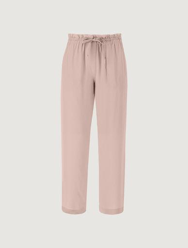 Drawstring trousers MONOCHROME Marella