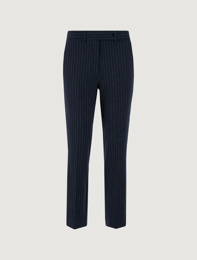 Pinstripe trousers Marella