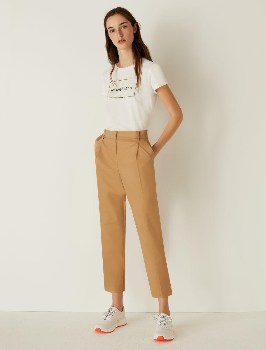 Cotton trousers Marella