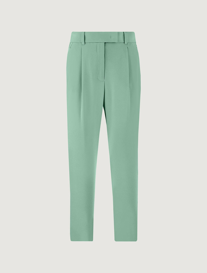 Carrot-fit trousers Marella