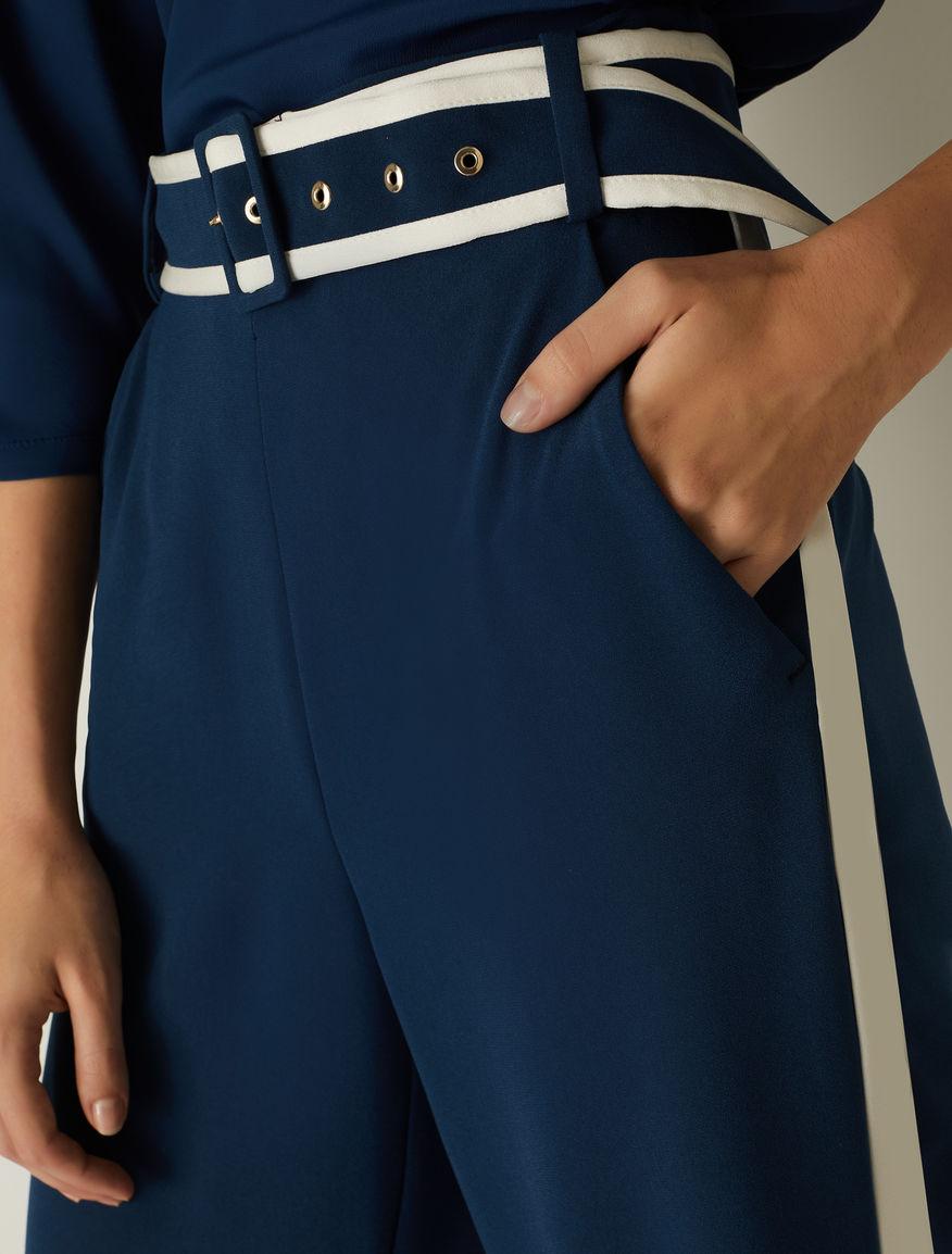 Pantaloni in crêpe Marella