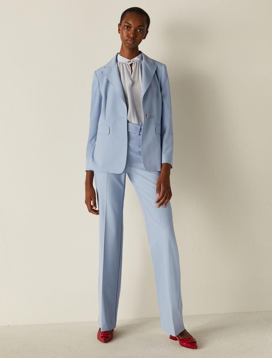 Canvas trousers Marella