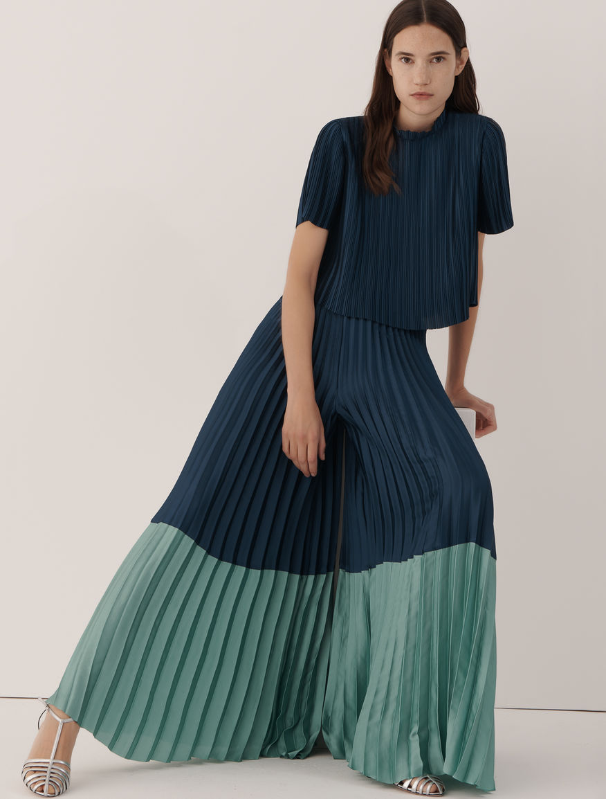 Pleated trousers Marella