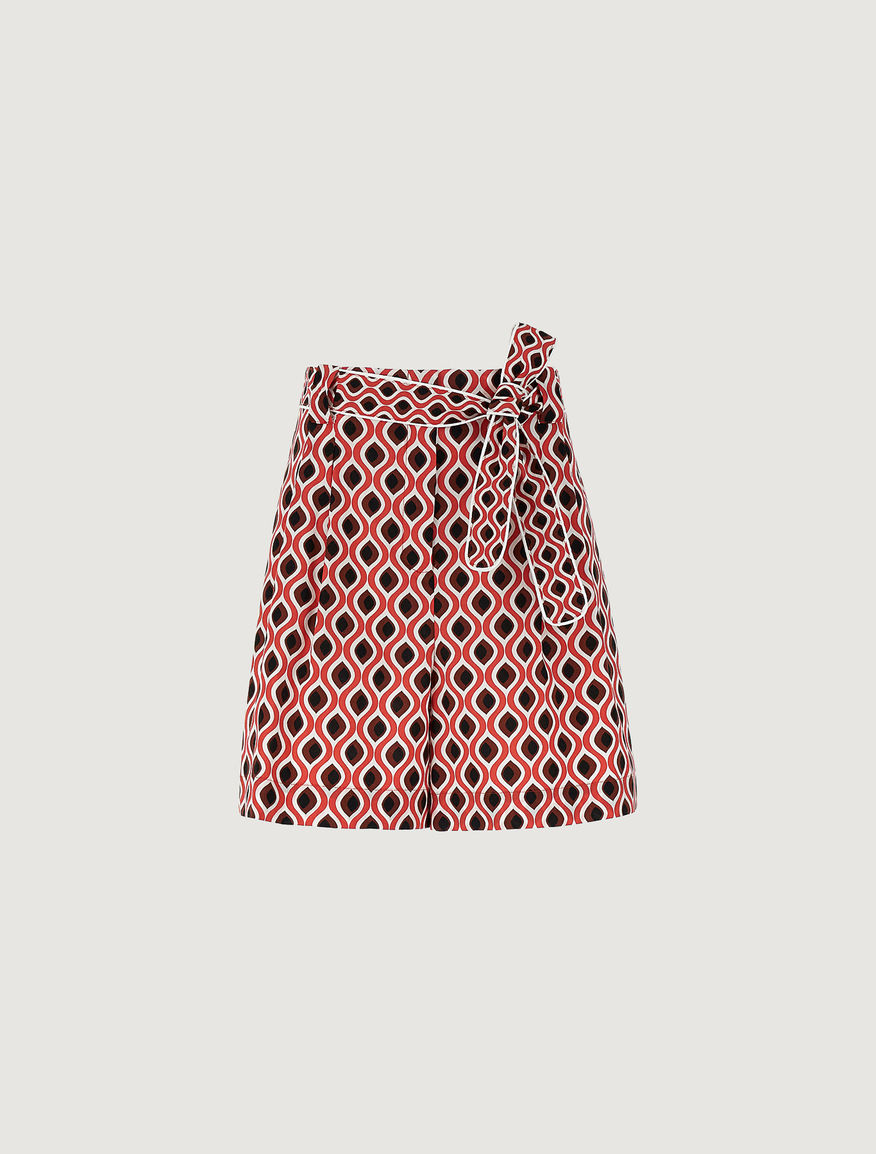 Patterned shorts Marella