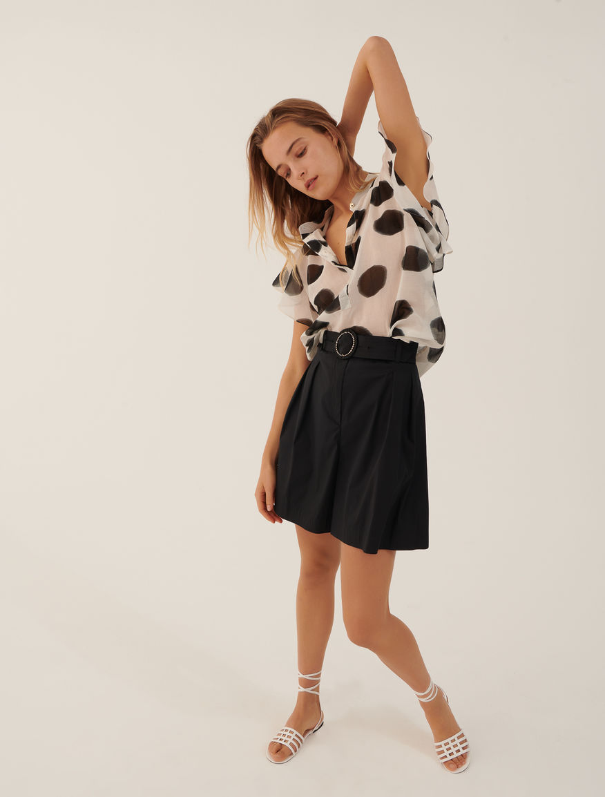 Poplin shorts Marella