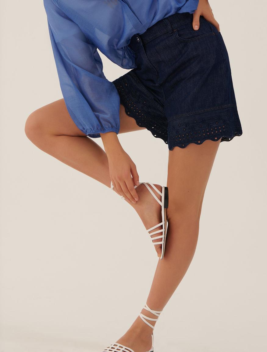 Shorts in denim Marella