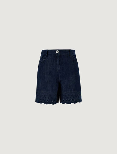 Shorts in denim Marella