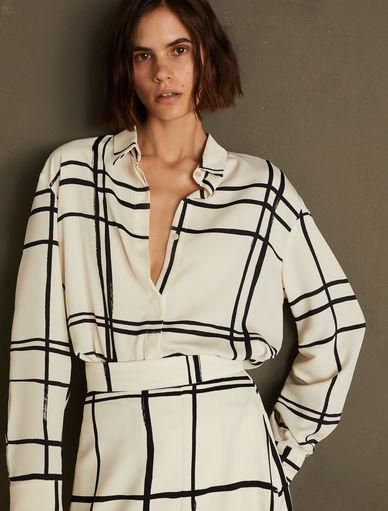Patterned shirt ART.365 Marella