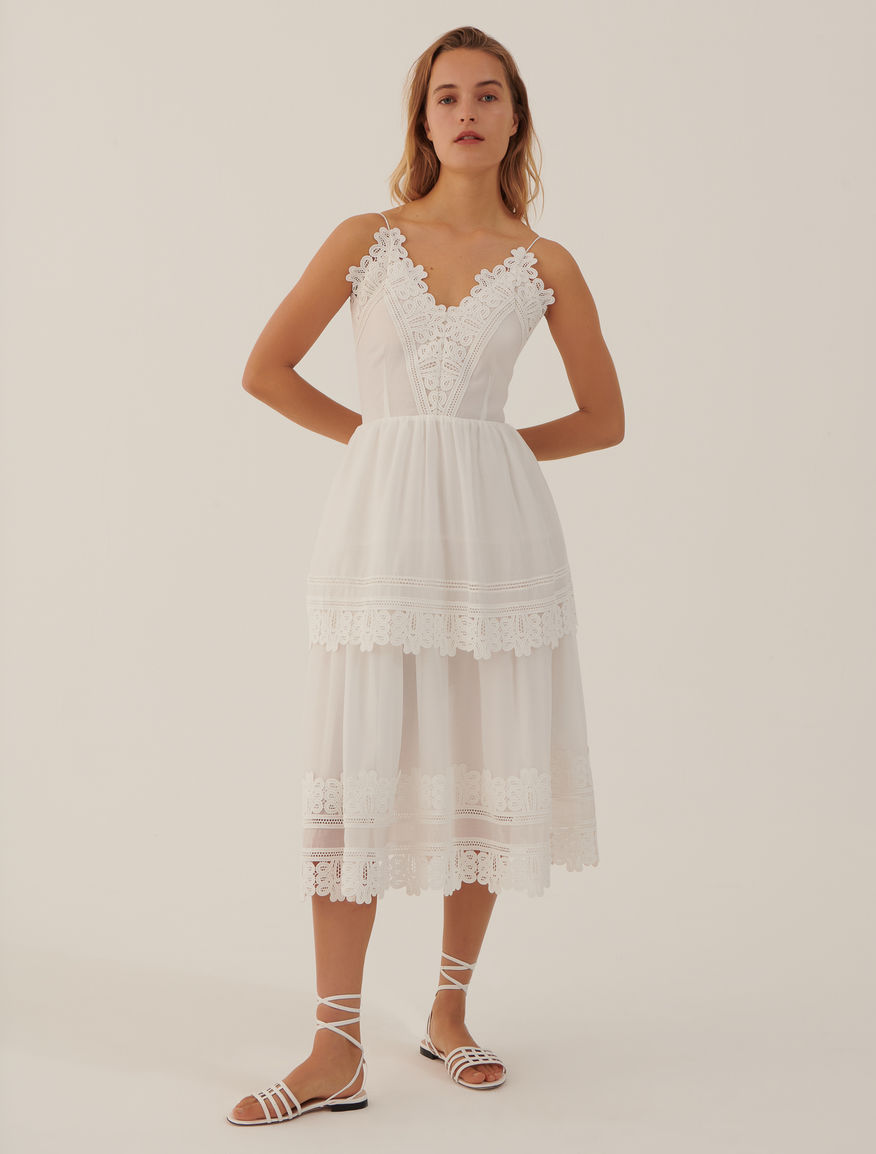 Dress with ruffles Marella