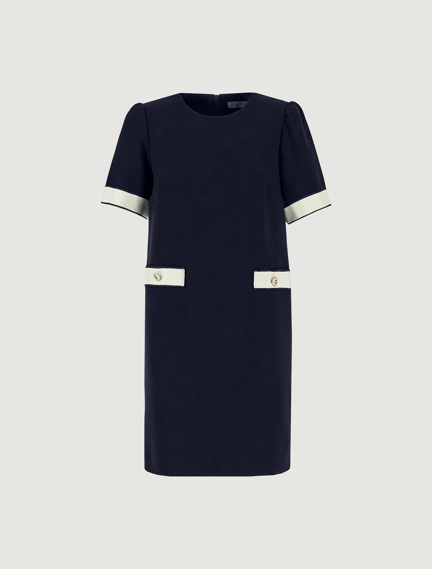 Dress with trim accents Marella