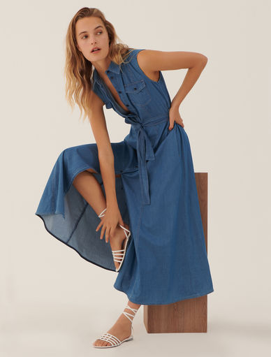Denim dress. Marella