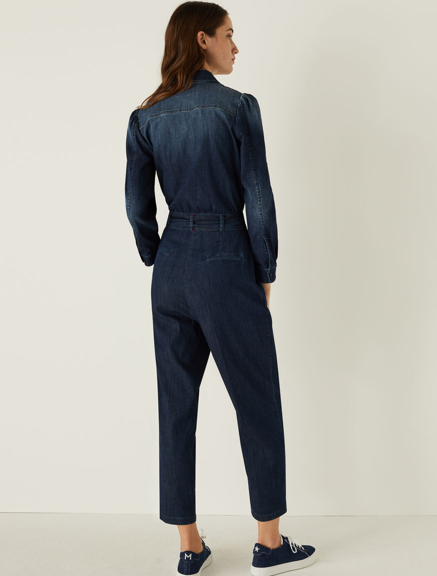 Denim jumpsuit Marella