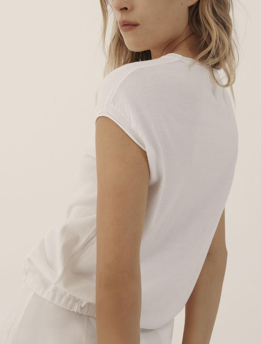 Drawstring sweater MONOCHROME Marella