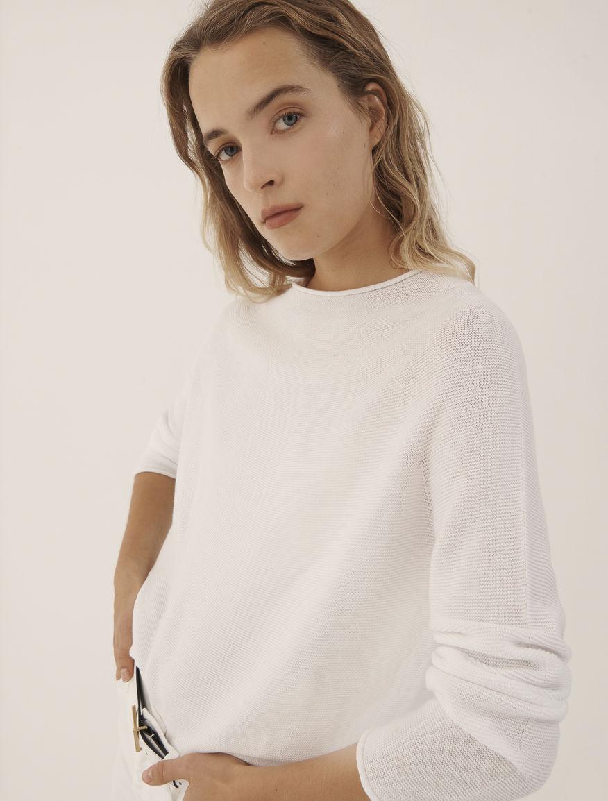 Cotton sweater MONOCHROME Marella