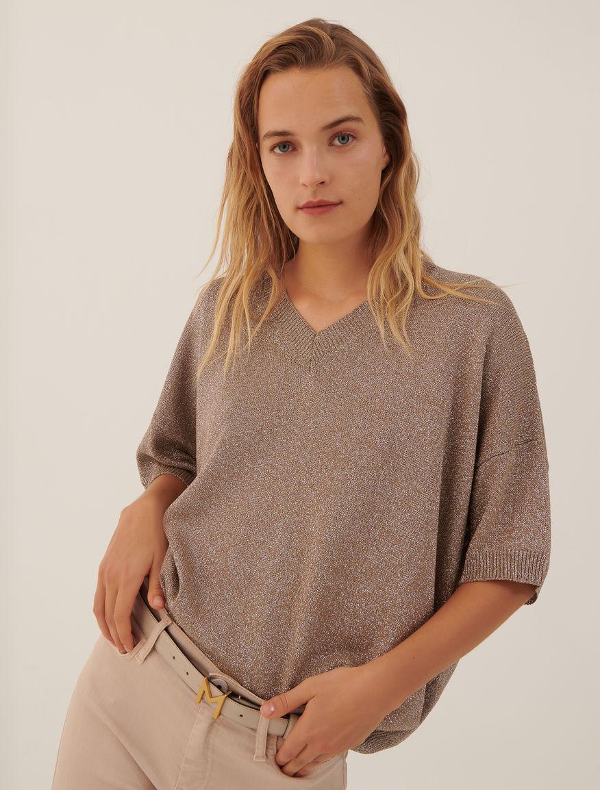 Lurex sweater MONOCHROME Marella