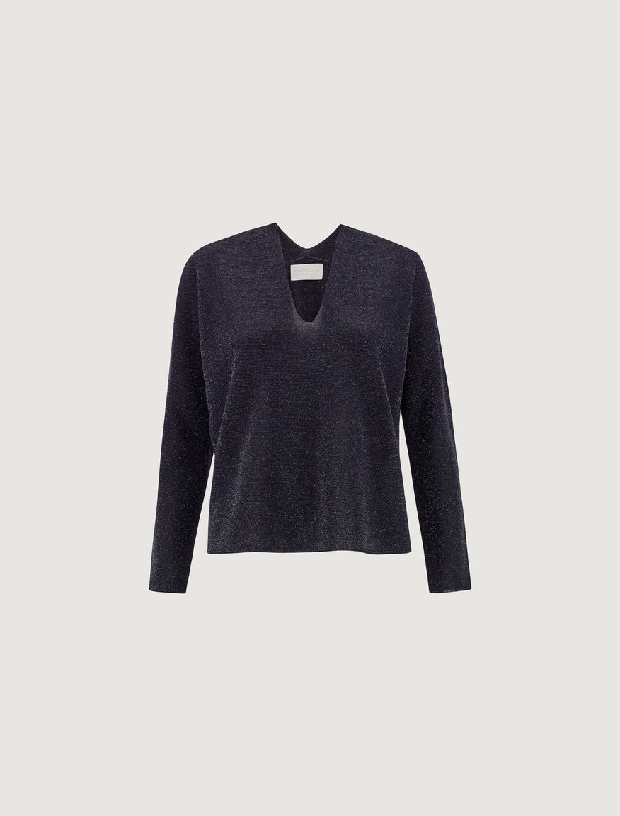 Lurex sweater MONOCHROME Marella