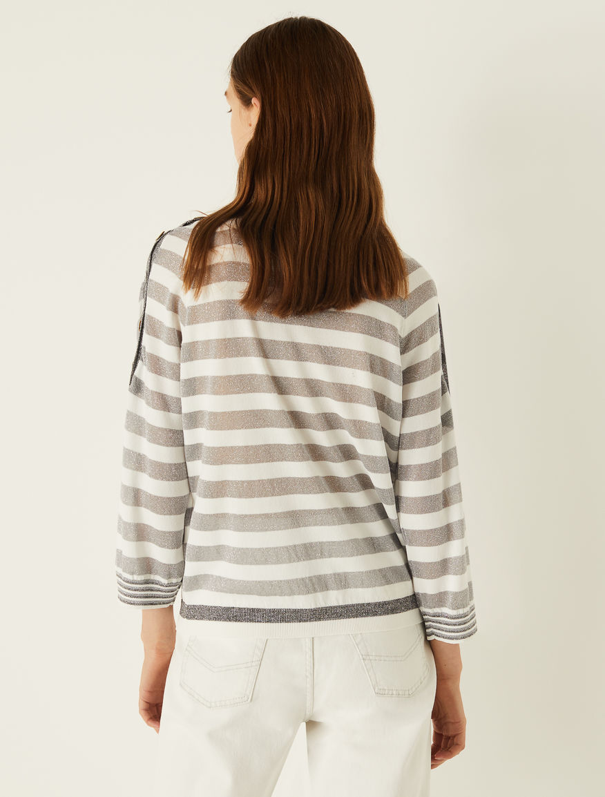 Striped sweater Marella